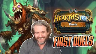 (Hearthstone Duels) My First Live Duels Run - Rattlegore!