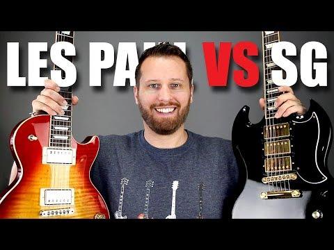 LES PAUL vs SG - Guitar Tone Comparison!!