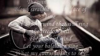 Wind Of Change - Scorpions [With Lyrics]