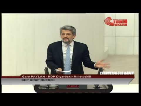 HDP DİYARBAKIR MİLLETVEKİLİ GARO PAYLAN MECLİS KONUŞMASI-CHP GRUP ÖNERİSİ-4 ARALIK 2018