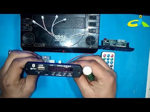 Mp3 With Bluetooth Video Player 5v & 12v Module |