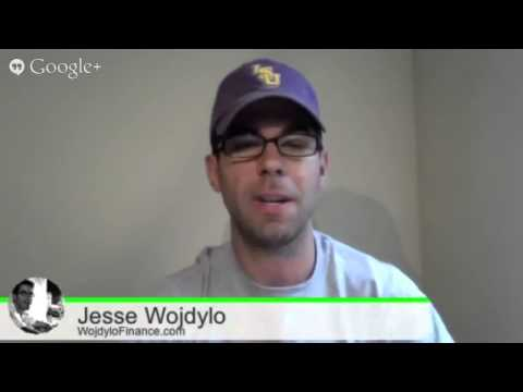 The Wojdylo Show #11 - Google Stock Price at $900 and Google Plus Twitter Chat