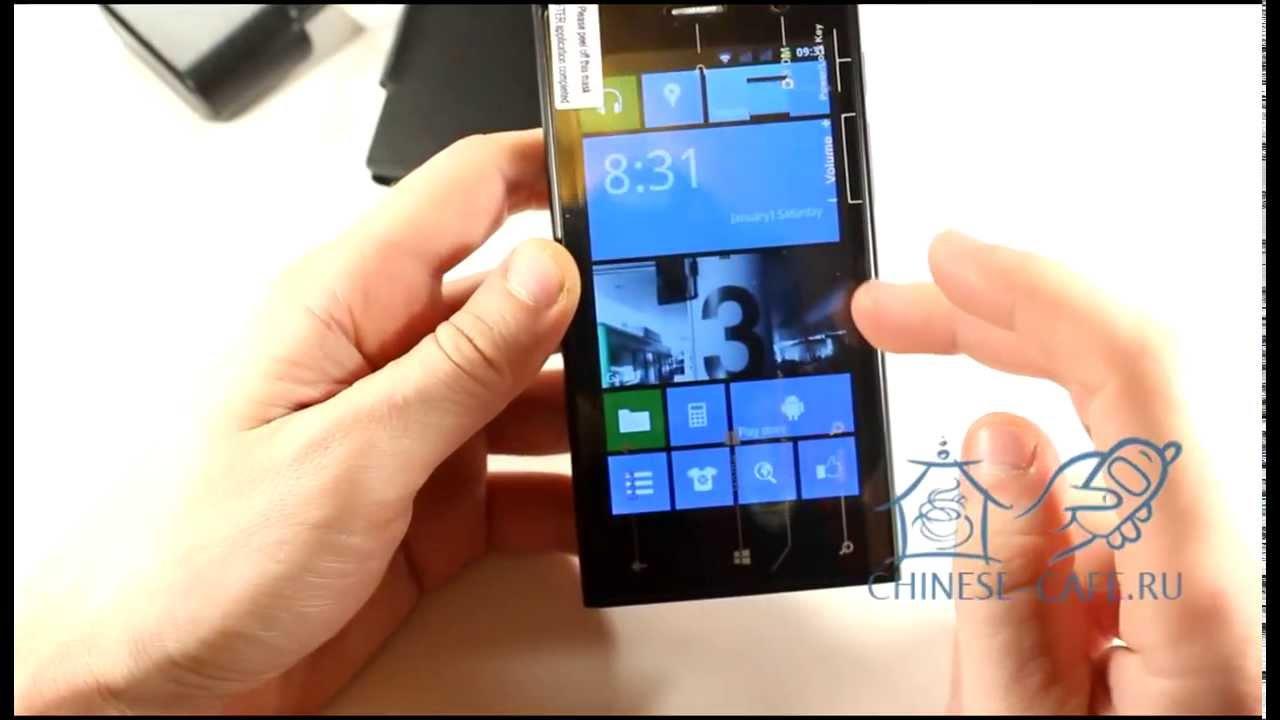 Видеообзор копии смартфона Nokia Lumia 920