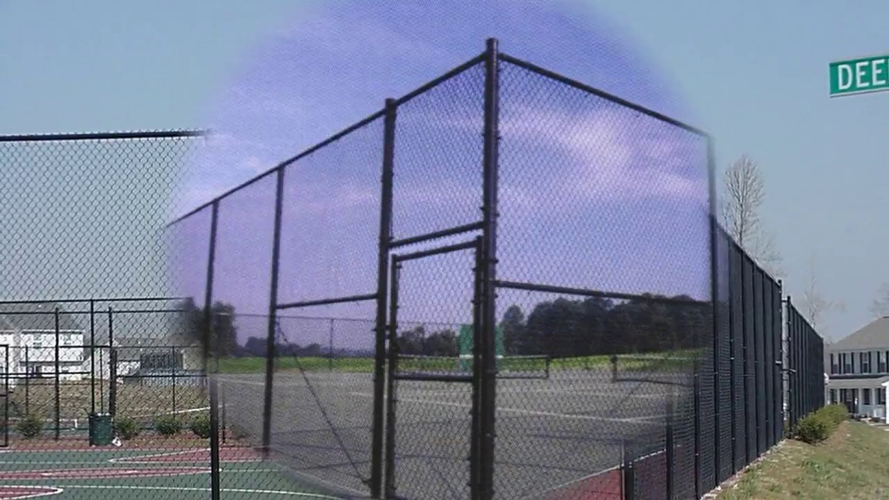 Tennis Court Fencing Design Ideas Youtube