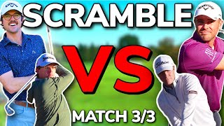 SHOWDOWN FINALE!! 2v2 Scramble. Team George VS Team Wesley! | Bryan Bros Golf