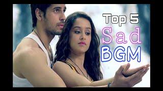 Top 5 Sad Bollywood Movies Background Music (BGM)