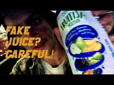 WARNING 2 RAW FOODISTS: MANGO JUICE CAN BE FAKE!