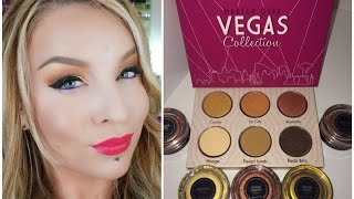 1st Impression : Look : Makeup Geek Vegas Lights Collection Thumbnail