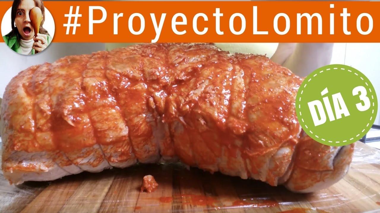 Cómo Hacer Lomo De Cerdo Curado Fiambre Casero Día 3 Proyecto Lomito Paulina Cocina Youtube