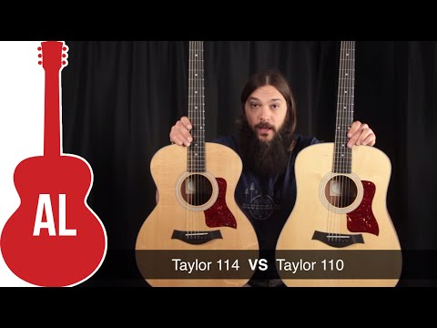 Taylor 114 vs 110 - What's the Difference?