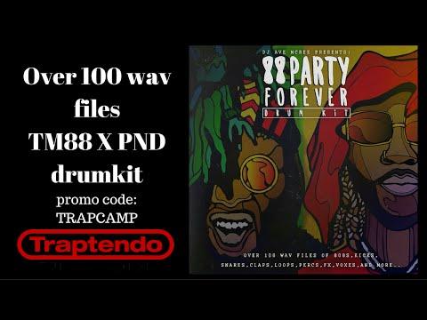 88 Party Forever Drum Kit Walkthrough (TM88XPND)