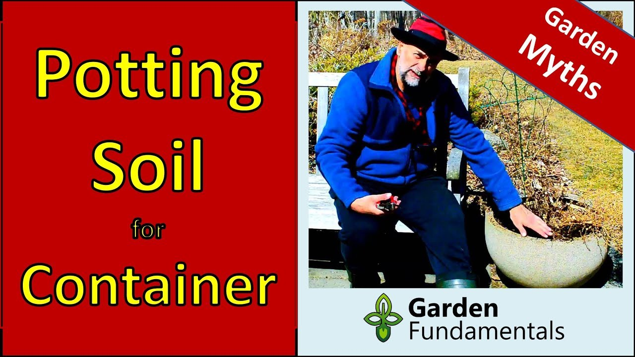 potting soil for containers - myths that save you money