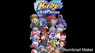 All Dream Friends - Kirby Star Allies
