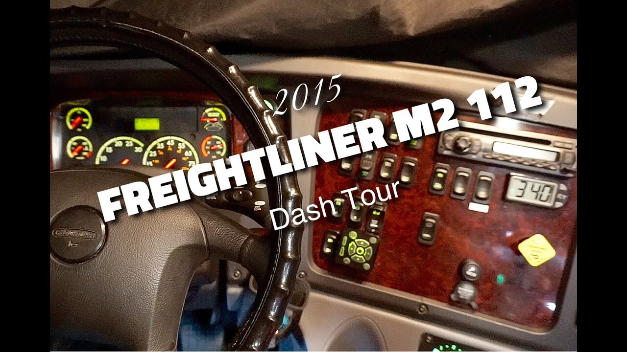 2015 freightliner m2 112 dash tour expediter straight. Black Bedroom Furniture Sets. Home Design Ideas