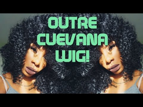 $36 NATURAL Curly Fro Wig! Outre Cuevana Twistout Bob Unboxing/Review!