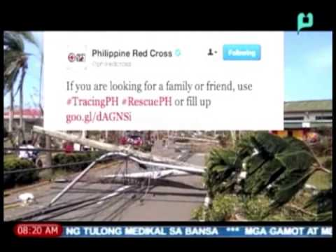 Digital Diaries: Google Person Finder, #TracingPH, #RescuePH