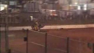Saldana's Huge Crash at Parramatta City Raceway