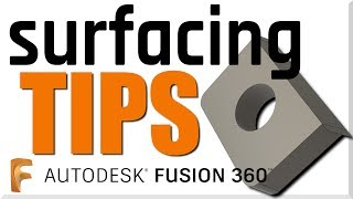 Fusion 360 CAM 3D Surfacing Tips! FF135