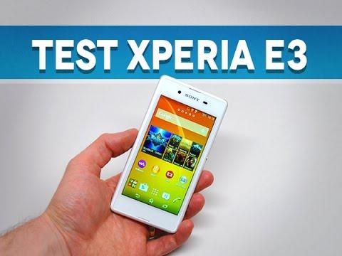 Test du Sony Xperia E3 - par Test-Mobile.fr