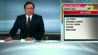 Saksi: Walang Pasok (August 7, 2012)