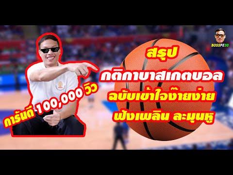 กติกาบาสเกตบอล (The Rules of Basketball)