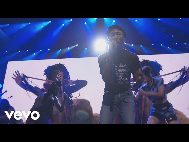 Pharrell Williams - Freedom (Live from Apple Music Festival, London, 2015)