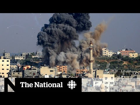 Palestinian militants fire hundreds of missiles at Israel after Gaza air strikes