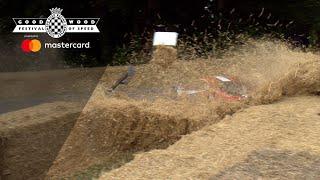 Ferrari 458 GT2 crash at FOS