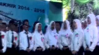 Perpisahan SDI bumiayu brebes 2015 lagu sayonara dan trima kasihku kelas enam