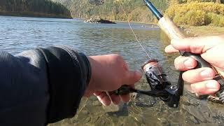 Рыбалка на реке Иркут Сентябрь 2021