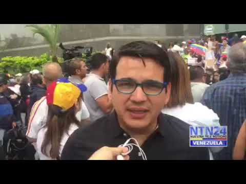 Marcos Ruiz expresó que trabajadores de la prensa protestan para denunciar violaciones a los DD  HH