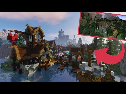 Extreme Spruce Village Transformation - Minecraft Timelapse [Download]