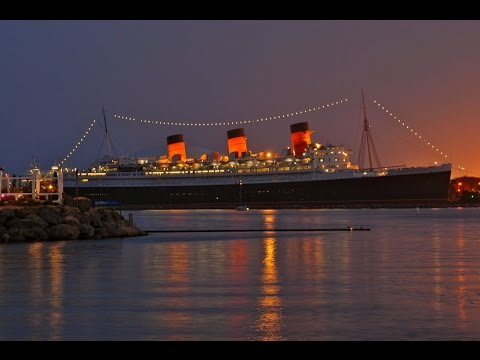 tour of the queen mary and long beach.