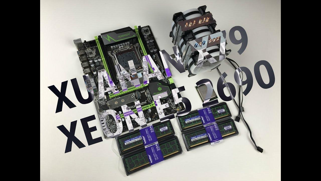 Обзор Huanan X79 ver 2 49pb + Xeon E5 2690 + ECC память 16Gb