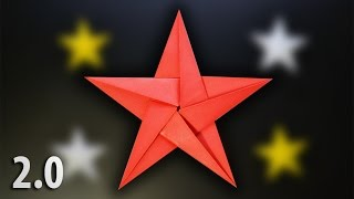 Origami: Five Pointed Star 2.0 - Instructions in English (BR)
