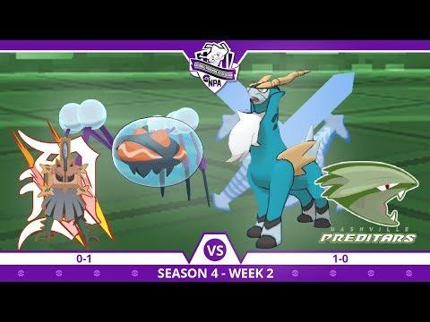 COBALION THE GOAT! • Detroit Type: Nulls vs Nashville Preditars NPA W2 • Pokemon Ultra Sun and Moon