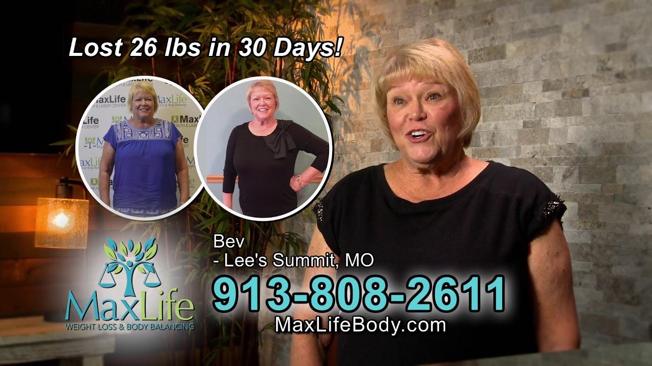 Maxlife Weight Loss And Body Balancing Doretha Bev Success Stories