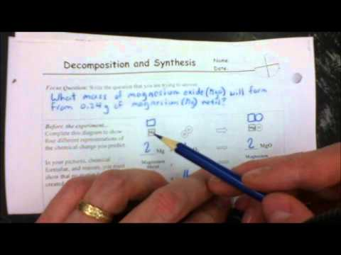Synthesis Of Magnesium Oxide Lab Part 1
