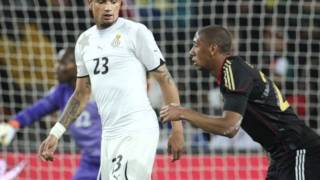 Kevin Prince and Jerome Boateng