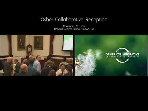 Dr. George Daley, HMS, leads Opening Remarks for Osher Collaborative Reception, 2017