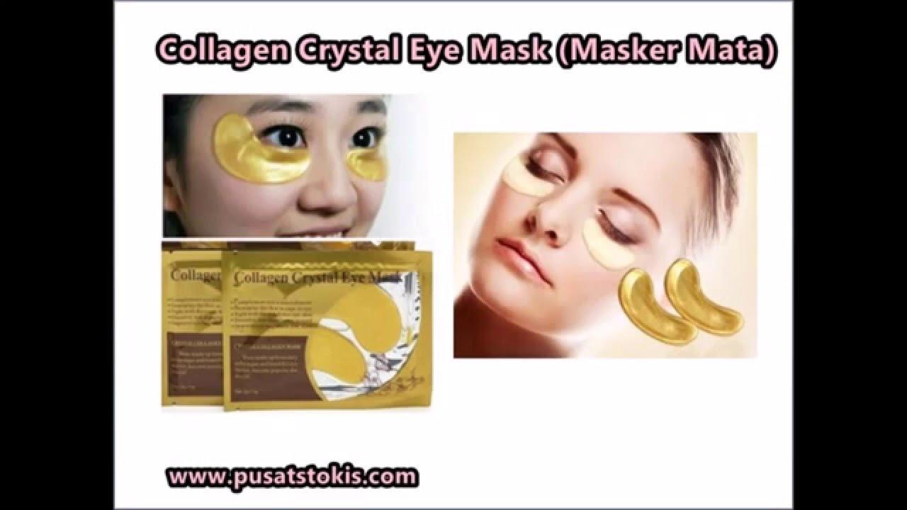 Jual Masker Mata Collagen Asli Harga Termurah Youtube Colagen Cystal Eye Mask