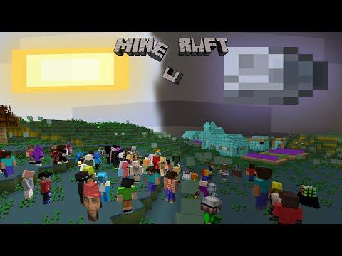 100 Игроков в Проклятом Мире проходят Майнкрафт