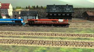 Indian Railway WDG 3A Coupling Freight Train In MSTS HD