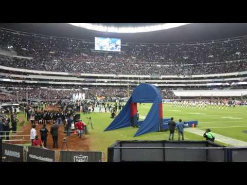 NFL Mexico Game 2016 Team Intros