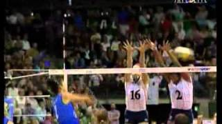 Mondiali Volley 2002 - Finale Italia-Usa 3°Set (2-2)