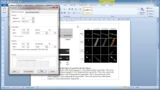 Microsoft Word - Inserting figures and Legends