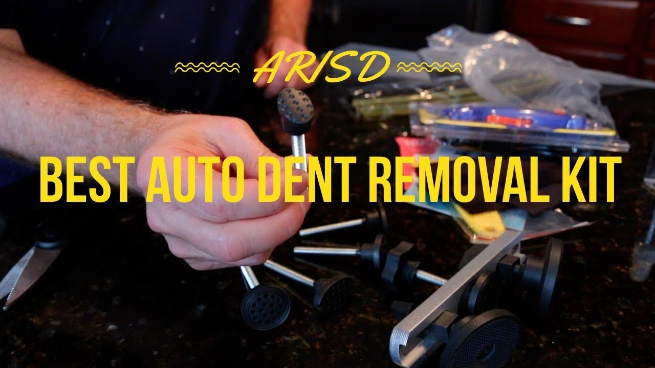 Fly5D 22Pcs Automotive No-Scratch Upgraded Dent Removal Bridge Puller kit