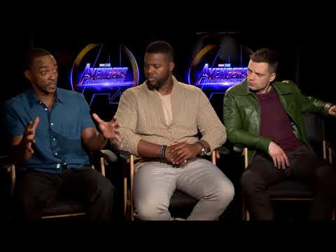 Avengers: Infinity War: Sebastian Stan, Anthony Mackie, Winston Duke Official Movie Interview