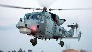 Royal Navy's AgustaWestland AW159 Wildcat in Flight