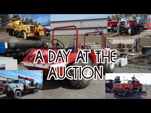 Looking At Trucks - Heavy Equipment Auction